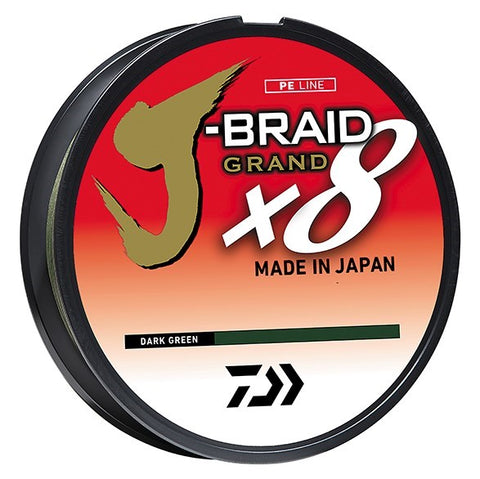 Daiwa J-Braid x8 Grand Braid Fishing Line