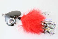 Musky Mayhem Electric Bunny Inline Spinner