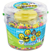 Perler Fused Bead Bucket Kit Emoji