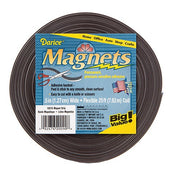 Magnet Strips - Adhesive Back - 25 Ft