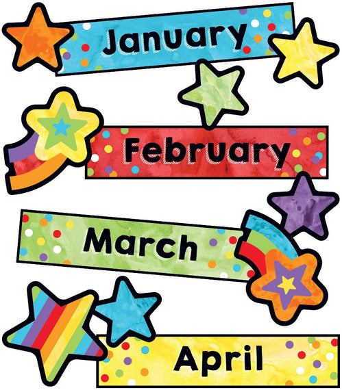 Celebrate Learning Months Mini Bulletin Board Set