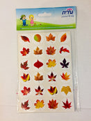 "Leaves Stickers 1"" 10 sheets"
