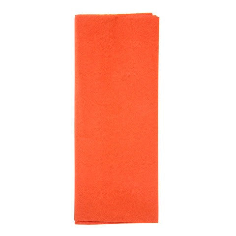 "Tissue Paper - Orange - 20 X 26"" - 8 Sheets"