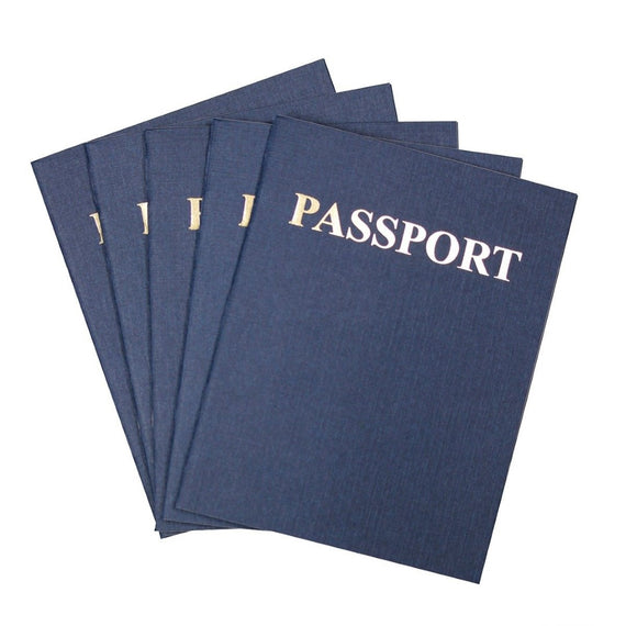 Passport Books (Blank Pages)