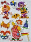 Purim Gel Stickers
