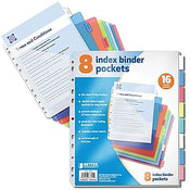 Subject Dividers (Pockets, 8 Subject Dividers)