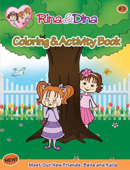 Rina and Dina Coloring and Activity Book #3