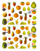 Fruit Die-Cut Stickers 10 Sheets