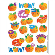 Peach Scented Applause Stickers