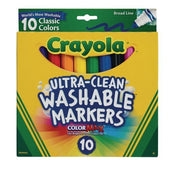 Crayola Ultra-Clean Washable Markers Set of 10
