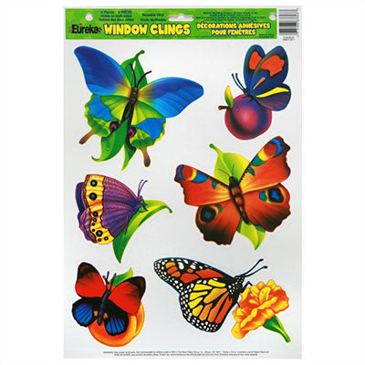 Window Cling Butterflies