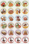 "Stickers Bruchas 1"" 10 sheets"