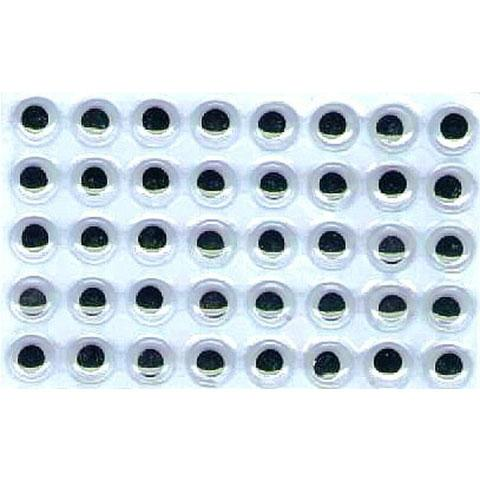 Googly Eyes Self Adhesive 1/2""