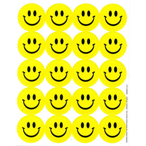 Scented Smile Stickers 4/sheets