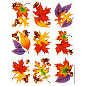 Sticker Leaves Giant 4/sheets