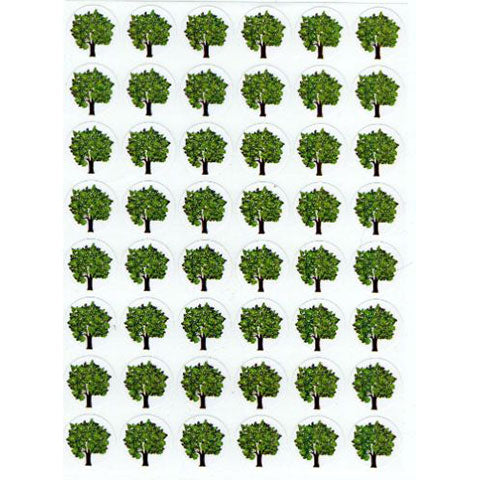 Stickers Trees 1/2""