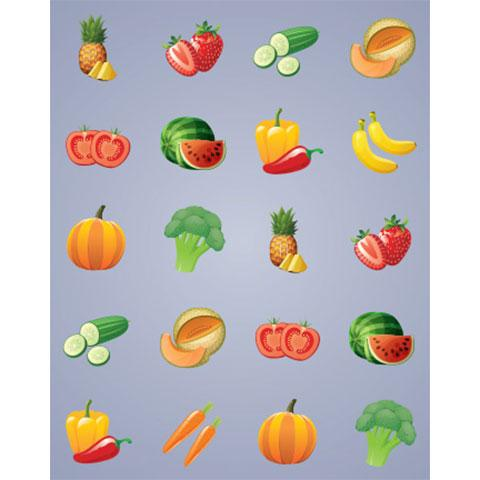 Hadama Stickers 6 sheets