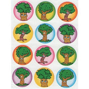 "Stickers Trees 1 1/2"" 10 Sheets"