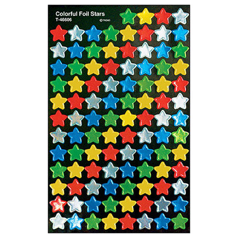 Stickers Colorful Stars