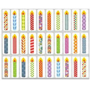 Candle Stickers 10/Sheets