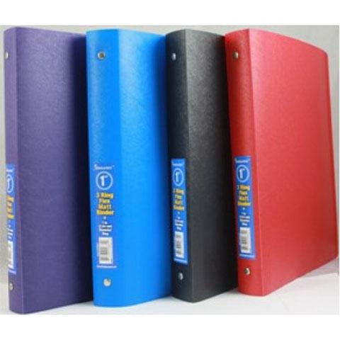 "Flexible Binder Assorted Colors (1"")"