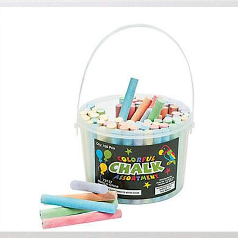 Colored Chalk 100/pk
