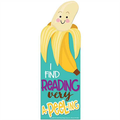 Bookmark Banana Scented 24/pk