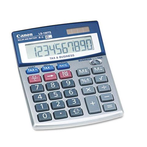 Portable Business Calculator, 10-Digit LCD