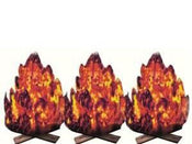 Fire Cutouts 3/pcs 20/pk
