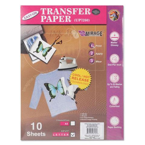 Easy On Transfer Paper