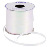 Curling Ribbon, 100-ft. Spools-White