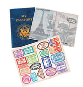My Passport Sticker Book
