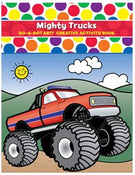 Do A Dot Art Mighty Trucks Activity Book