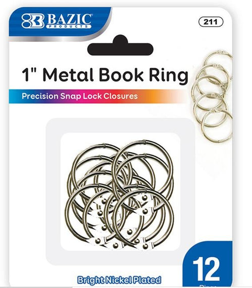 Loose Leaf Binder Rings