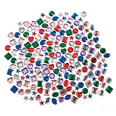 Self-Adhesive Jewel Assortment 500/pk
