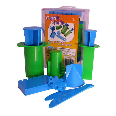 Large Castle Molds 10/pk