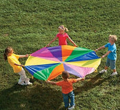Polyester Super Sturdy Parachute With Handles 6ft