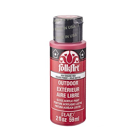 outdoor Paint Engine Red