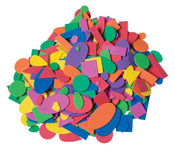 Foam Shapes, Assorted Colors, 350 Count