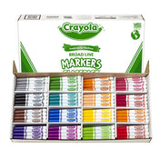 Classpack crayola Markers Broad Point 256/Pack
