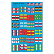 Flags of the World superShapes Stickers