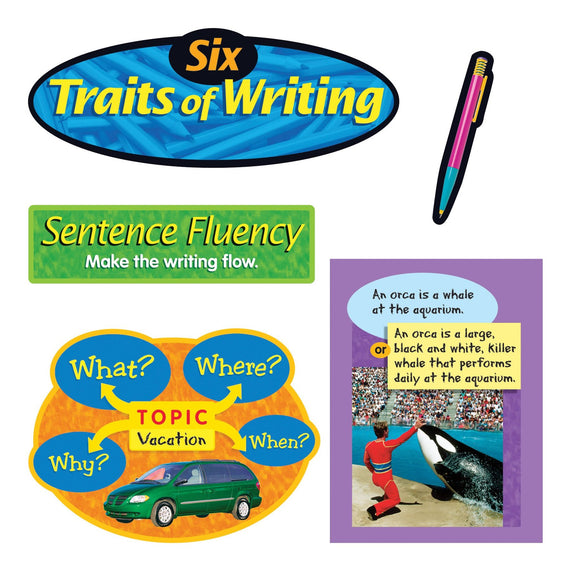 Six Traits of Writing Bulletin Board Set