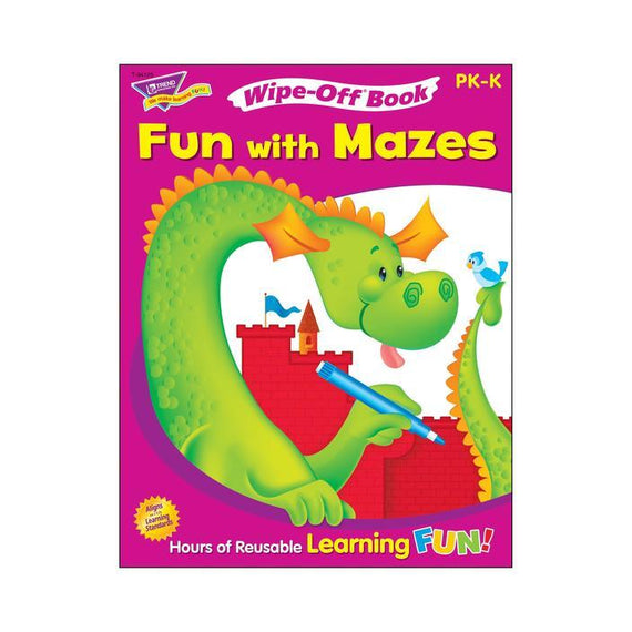 Fun with Mazes Wipe-Off® Book