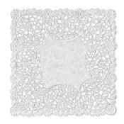 White Square Doilies