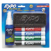 Low Odor Dry Erase Marker Starter Set