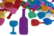 Sparkling Foam Bottles And Cups 2-4 Inches 50/pk