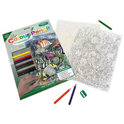 Tropical Fish Color Pencil by Number