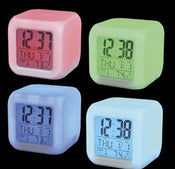 Color Changing Led Mood Clock 3""
