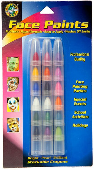 Stackable Face Paint - Multi Pack