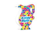 Chanukah Card Oil Pitcher 36/pcs.